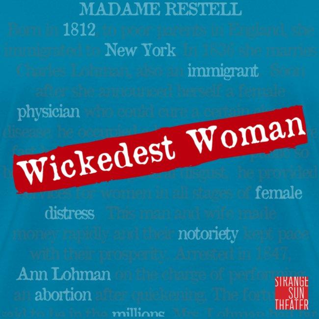 Wickedest Woman Logo Accessories