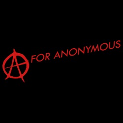 A for anonymous