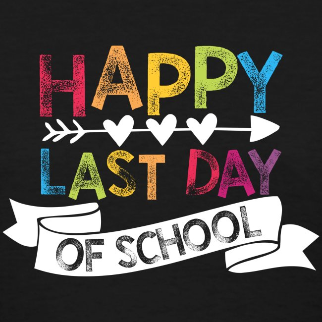 Happy Last Day of School Stamps Teacher T-Shirts
