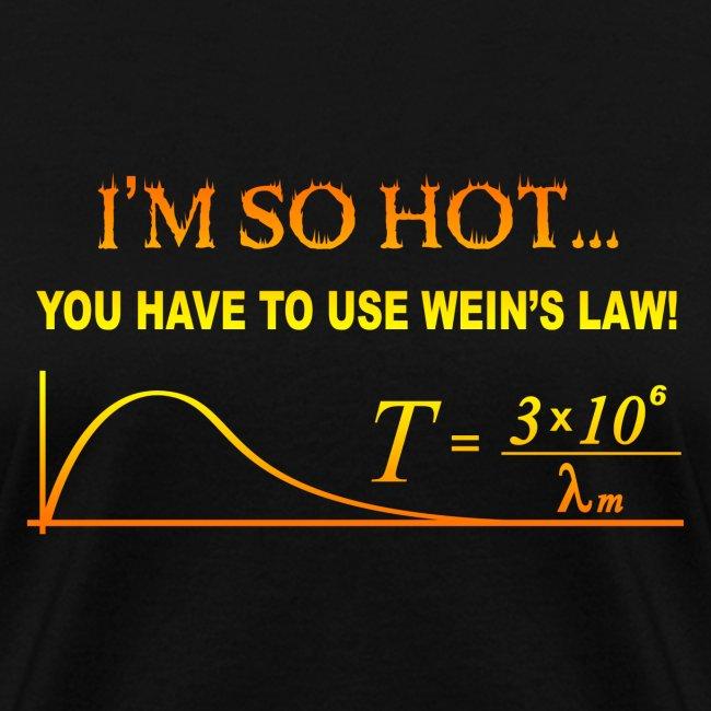 weins law gradient