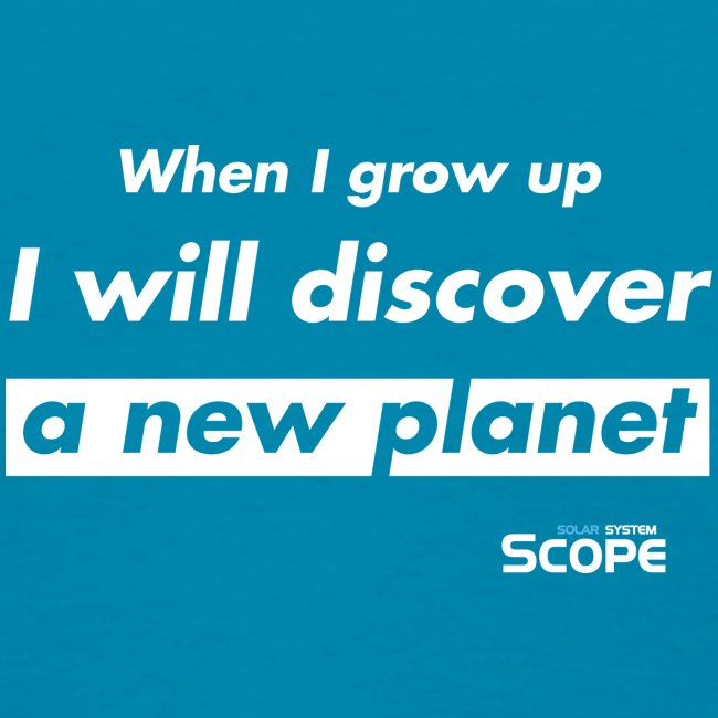 Solar System Scope : I will discover a new Planet
