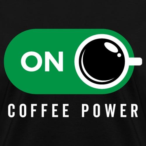 Coffe Power On - Women's T-Shirt