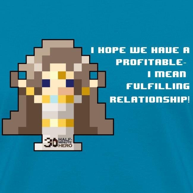Time Goddess - Profitable Relationship (White txt)