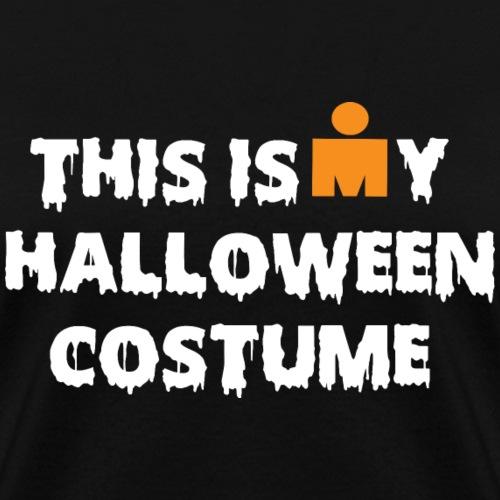 halloween costume white orange - Women's T-Shirt