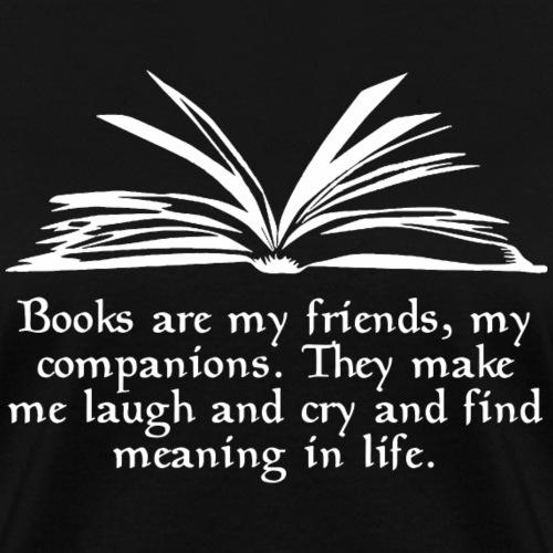 Books Are My Friends - Women's T-Shirt