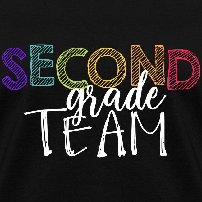 Second Grade Team Grade Level Team Teacher T-Shirt