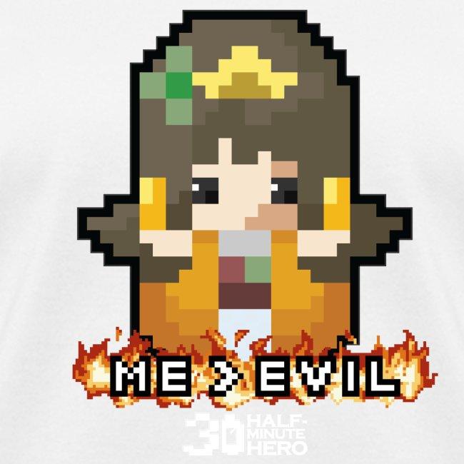 Princess ME v EVIL (White logo)