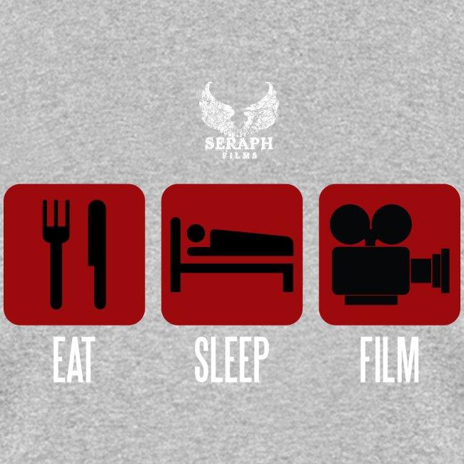 eat sleep film png