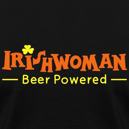 Beer Powered Irish Woman - Women's T-Shirt
