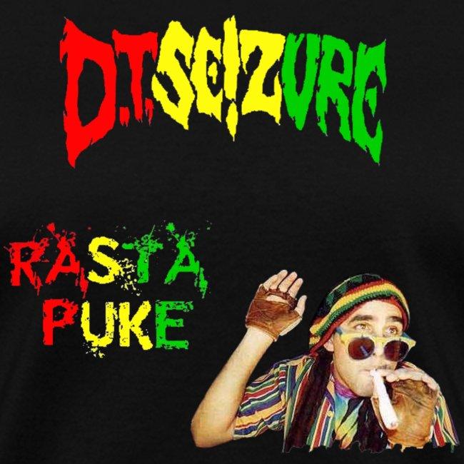D.T. Seizure - Rasta Puke T-Shirt