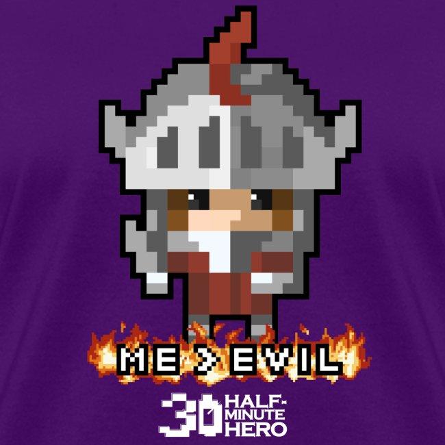 Knight ME v EVIL (White logo)
