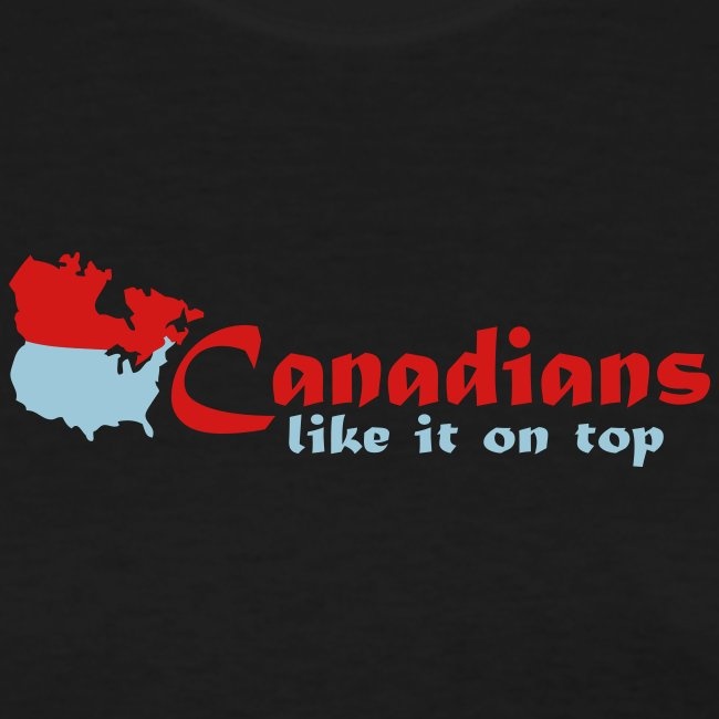 Canadians like it on top