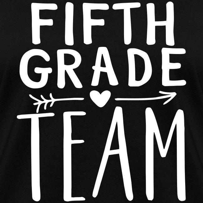 Fifth Grade Team Teacher T-Shirts