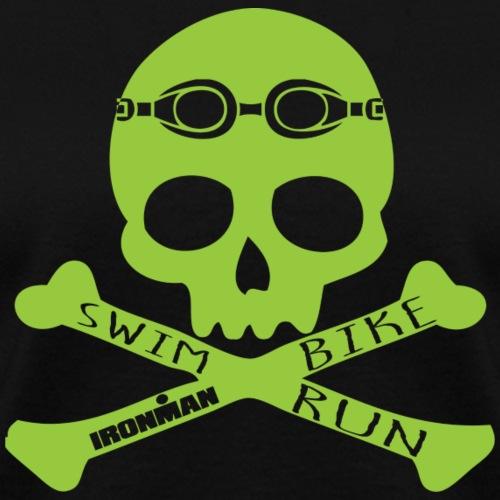 sbr skull lime - Women's T-Shirt
