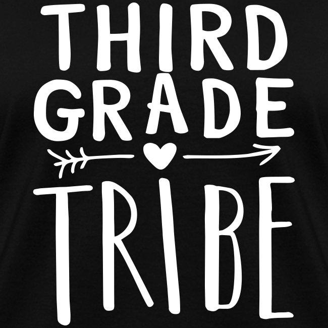 Third Grade Tribe Teacher Team T-Shirts