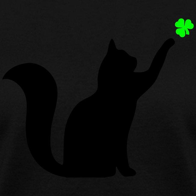 Cat and Shamrock