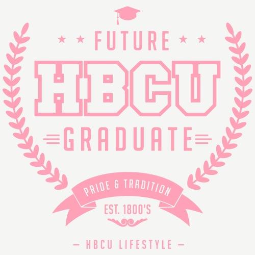 Future HBCU Graduate - Men's Ivory and Navy T-shir