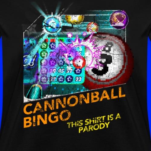 Vintage Cannonball Bingo Box Art Tee - Women's T-Shirt