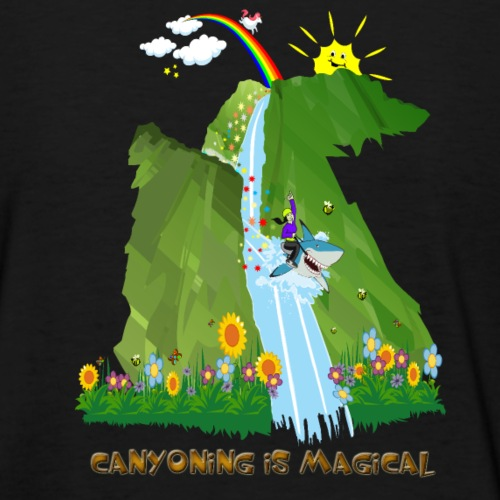 CANYONING IS MAGICAL-on dark back-2 sided - Women's T-Shirt