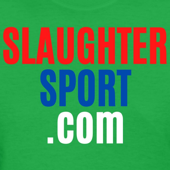 SLAUGHTERSPORT COM (Front & Back)
