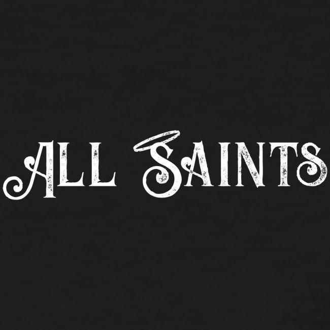All Saints front and back print