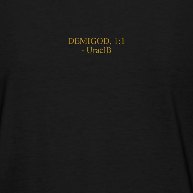 "DemiGod ""I Am Golden"" (Black)"