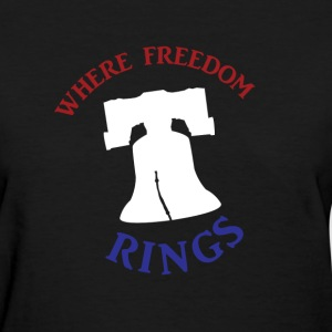 Freedom Rings - Color - Women's T-Shirt