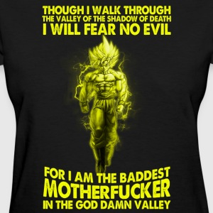 super saiyan goku fear no evil t shirt - Women's T-Shirt