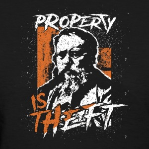 Proudhon - Property Is Theft - Women's T-Shirt