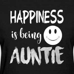 Happiness Is Being Auntie T Shirt - Women's T-Shirt