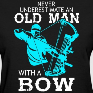 Old Man With A Bow T Shirt - Women's T-Shirt