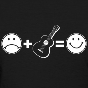 Guitar means Happiness - Women's T-Shirt