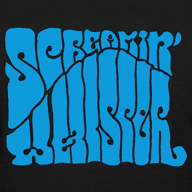 Screamin' Whisper Retro Logo