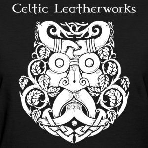 Green Man by Celtic Leatherworks - Women's T-Shirt