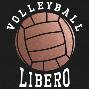 Rose Gold Volleyball Libero - Women's T-Shirt
