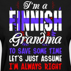 Im A Finnish Grandma - Women's T-Shirt