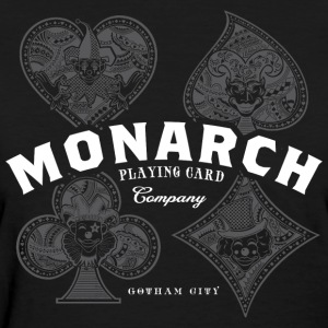 Monarch Playing Cards - Women's T-Shirt