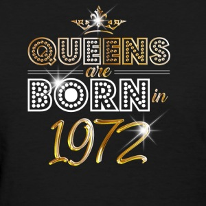 1972 - Birthday - Queen - Gold - EN - Women's T-Shirt