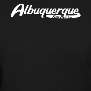 Albuquerque New Mexico Vintage Logo - Women's T-Shirt