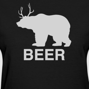 Bear Deer Beer - Women's T-Shirt