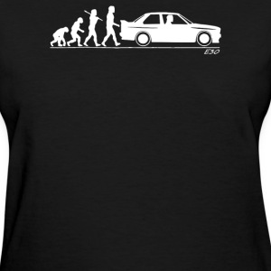 Evolution of Man BMW M3 E30 - Women's T-Shirt