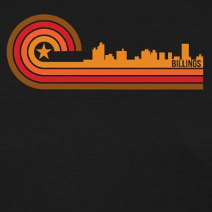 Retro Style Billings Montana Skyline - Women's T-Shirt