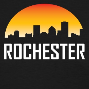 Rochester New York Sunset Skyline - Women's T-Shirt