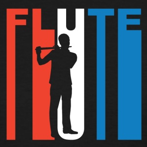 Red White And Blue Flute - Women's T-Shirt