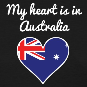 My Heart Is In Australia - Women's T-Shirt
