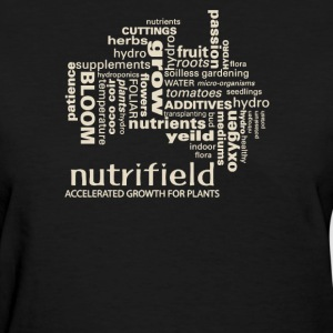 Nutrifield accelerated growth for plants - Women's T-Shirt