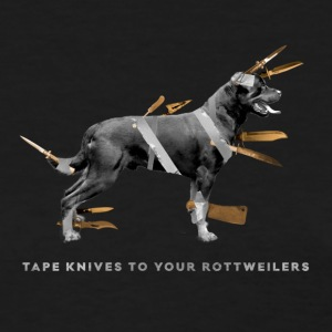 Tape knives to your Rottweilers - Women's T-Shirt