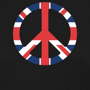 United Kingdom Peace Sign - Women's T-Shirt