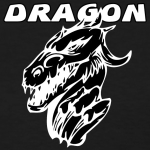 evil_dragon_with_black - Women's T-Shirt