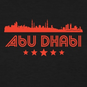 Retro Abu Dhabi Skyline - Women's T-Shirt